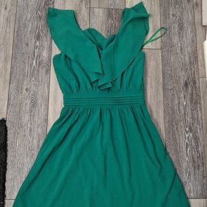 Francesca's Kelly green dress